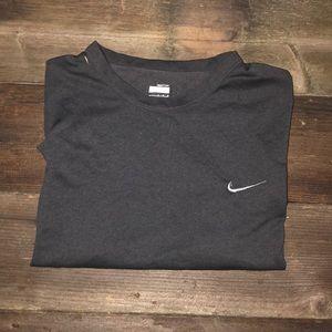 Nike Fit Gray Workout Shirt